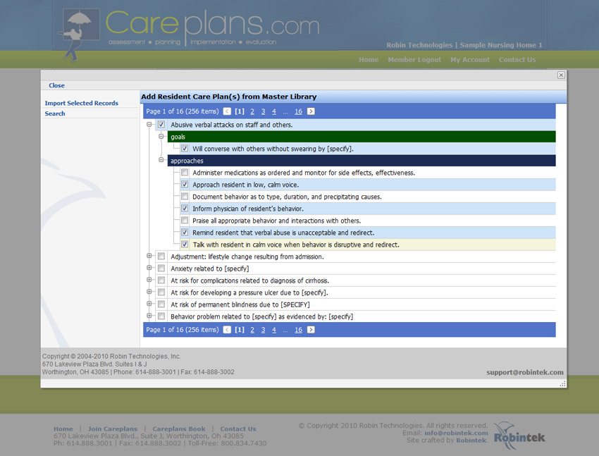 CareplansCom  Faqs