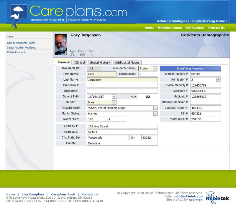 nursing care plan generator